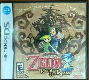 The Legend of Zelda Phantom Hourglass (Nintendo DS) Case & Manual Only - NO GAME