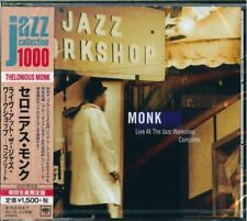 Live at the Jazz Workshop by Thelonious Monk (CD, Nov-2015)