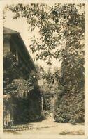 Azusa California Frasher Dr Vosburg Home RPPC Photo Postcard 20-4875