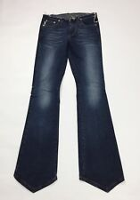 Ice jeans bootcut zampa donna usato w27 tg 40 41 denim vintage boyfriend T3212