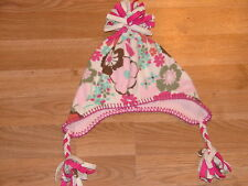 next girls flowered hat age 3 - 6 years