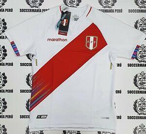 NEW!!! Marathon 2021 FPF Peru Soccer Jersey Copa America ALL SIZES