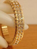 2ct Diamond Bracelet 24kt GOLD Gemstone Jewelry Bridal Formal Gem Gift HANDMADE