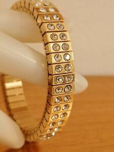 2ct Diamond Bracelet 24kt Gold Jewelry Gift for women Bridal Formal Gem Handmade