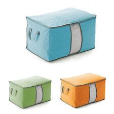 Plegable Bolsa almacenaje ropa manta colcha Armario Suéters organizador caja