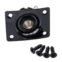 Electric Guitar Output Jack Plate Socket 6.35mm 1/4'' for  Style Guitar
