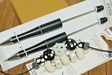 14 pc Beaded Pen Gift set, or for resale - Big hole Lampwork Beads - A2588c