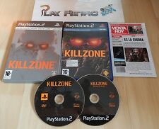 PLAY STATION 2 PS2 KILLZONE EDICION ESPECIAL LIMITADA COMPLETO PAL ESPAÑA