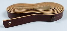GDR Carrying Strap Leather Braun For Binoculars Carl Zeiss Jena Unused (da5596)