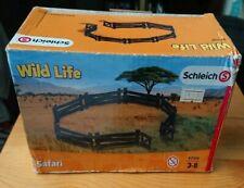 Schleich 42304 Wild Life Safari fence set with gate fencing enclosure rails