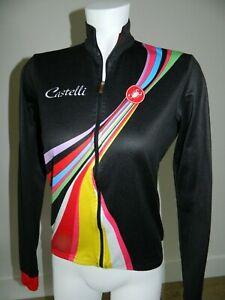 Castelli Women Full Zip Cycling Jacket sz L