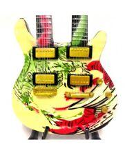 MINIATURE Guitar doubleneck Santana model