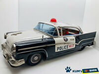 Tin Toy Ford Police Car Highway Patrol Rare Item Showa retro Made in Japan