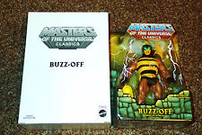 BUZZ-OFF 1ST ISSUE FIGURE  MASTERS OF THE UNIVERSE CLASSICS  BRAND NEW BUZZOFF