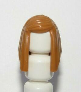 Lego 1 Hair Wig For Female Girl Minifigure Figure  Long Straight  Nougat