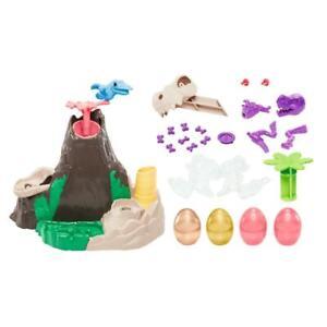 Play-Doh Slime Dino Crew Lava Bones Island Volcano Playset for Kids 4 Years and