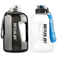 3.78L Water Bottle Large Jug Handle BPA Free Sports Leakproof Fitness Gym Kettle