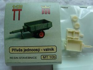 miniatur MT10b Spur TT Komplettbausatz Bausatz Anhänger Hänger Pritsche Resin