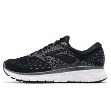 Brooks Womens Glycerin 16 Running Shoes, Relective Black/White/Grey