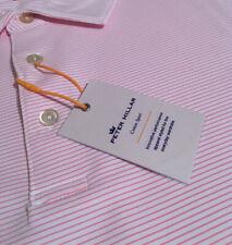 Peter Millar Crown Sport Summer Comfort Men's Size XXL Bri Striped Golf Polo