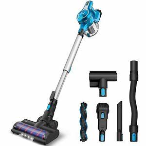 New Cordless Stick Vacuum Cleaner 23KPa Stick Handheld Vacuum 250W 2-in-1 brush