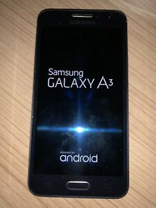 Samsung Galaxy A3 SM-A300FU - 16GB Black Used On O2 Network