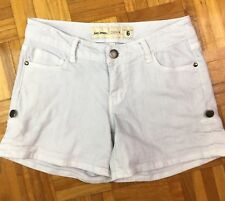 Just Jeans Women's Denim Shorts Acid Wash Size 6 Cotton/Elastane