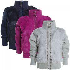 Markenlose Mädchen-Pullover & -Strickware mit Reißverschluss
