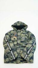 Abercrombie & Fitch Kids Winter Jacke mit Kapuze camouflage Gr. 11 / 12 #K480