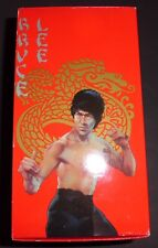 Vintage Bruce Lee VHS 4-Tapes Collection (CBS/Fox) Box Set