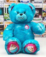Build-A-Bear Turquoise Cakes and Treats Teddy Bear Cupcake Stuffed Toy Plush