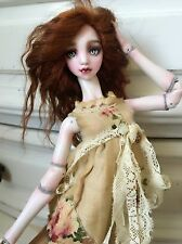 "OOAK 13"" Porcelain Ball jointed doll. Art bjd"
