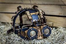 MAD MAX Handmade Steampunk Cosplay MASK || Leather || Gothic || Victorian || #5