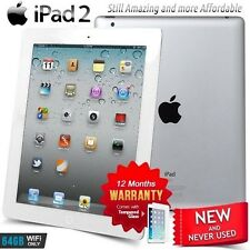 New in Sealed Box APPLE iPad 2 II A5 CPU 64GB White PC Tablet (Wifi Only)
