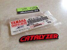 Yamaha 4FU-21781-30 TDR125 TDR 125 logo emblème sticker label NOS