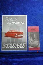 Staunau K 400 Kleinschnittger F125 1950 Prospekt (E#167) Nachdruck Archiv Verlag