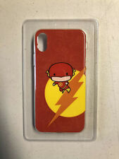 New Flash DC Cartoon iPhone X Phone Case Justice League Red Camsing