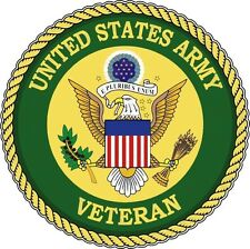 UNITED STATE ARMY SEAL VETERAN TOOLBOX STICKER LAPTOP STICKER HARDHAT STICKER