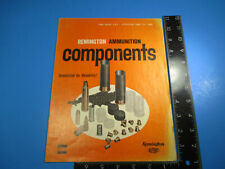 Vintage 1966 Remington Ammunition Components Price List Primed Unprimed M6603