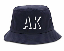 Kings Of NY Initials Alaska USA State AK Bucket Hat
