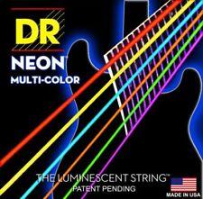 Cordes multicolore pour guitare et basse