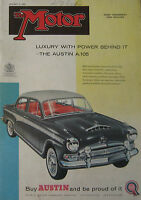 Motor magazine 2/1/1957 featuring Ford Zodiac road test, Austin A50