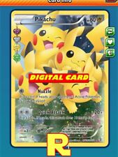 FA Pikachu (Nuzzle GEN) - Full Art - Pokemon TCG Online (ptcgo in Game Card)