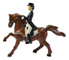 Dressage Horse with Rider Trinket Box or Figurine approx 10cm High
