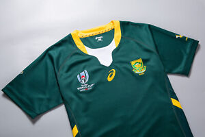 South Africa Rugby Men's Home Jersey Springboks World Cup 2019  Free Shipping