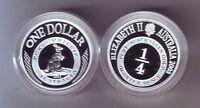 2003 SILVER Proof $1 Kangaroo Coin Port Phillip ex Masterpieces Set ***