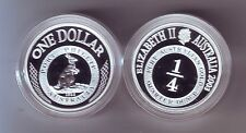 2003 SILVER Proof $1 Kangaroo Coin Port Phillip ex Masterpieces Set ***
