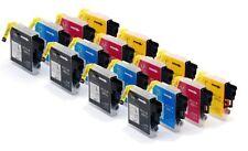 16 x Tinte Patronen für Brother MFC-240C MFC-440 MFC-5460cn MFC-5860cn / LC1000