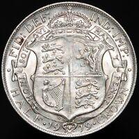 1919   George V Half-Crown 'Die 1+A'   Silver   Coins   KM Coins