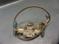 AIRCRAFT AVIATION HOMEBUILT EXPERIMENTAL REMOTE CABLE OPERATED FUEL VALVE
